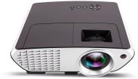 MDI MDI-RD803 2000 Lumen with USB VGA HDMI Full HD 2000 lm LED Corded Mobiles Portable Projector(Black)