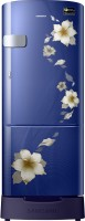 Samsung 192 L Direct Cool Single Door 3 Star Refrigerator with Base Drawer(Star Flower Blue, RR20R1Z2ZU2/HL) (Samsung) Tamil Nadu Buy Online