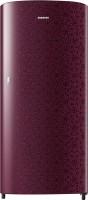 SAMSUNG 192 L Direct Cool Single Door 2 Star Refrigerator(Ombre Red, RR19R11C2MR/HL)