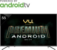Vu Premium Android 138cm (55 inch) Ultra HD (4K) LED Smart TV(55-OA/55-OA V1)