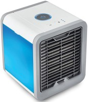 View techobucks Arctic Cooler Air 3 in 1 Conditioner Purifier Filter Humidifier Room/Personal Air Cooler(Multicolor, 0.75 Litres)  Price Online