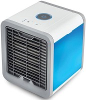 View techobucks Mini Cooler Air Conditioner 3 in 1 Purifier Filter Humidifier Room/Personal Air Cooler(Multicolor, 0.75 Litres)  Price Online