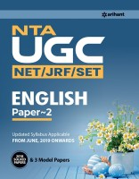 Nta UGC (Net/Jrf/Set) English Literature Paper 2 2019(English, Paperback, unknown)