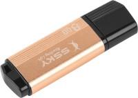Ssky Super Speed FD01 8 GB Pen Drive(Gold, Black)
