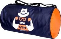 Gag Gentleman Mustache Gym Bag(Blue, Kit Bag)