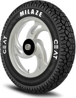 CEAT Milaze 90/90-12 Front & Rear Tyre(Street, Tube Less)