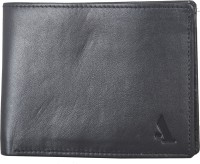 ADAMIS Men Brown Genuine Leather Wallet(6 Card Slots)