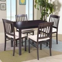 RoyalOak divine Solid Wood 4 Seater Dining Set(Finish Color - Brown)