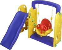 NHR Colorful 2 in 1 Junior Plastic Garden Slide(Multicolor)