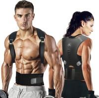 ZCAREPHARMA Back support belt women men posture corrector(Free Size) Back Support(Black)