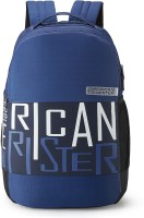 American Tourister BOUNCE CASUAL BACKPACK 01 - BLUE 28 L Backpack(Blue, White)