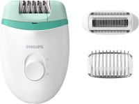 Philips BRE245/00 Corded Epilator(White, Green)