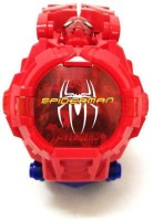Amaze Sport Kids Spider Man Digital Toy Watch Wrist to Convert Robot (Multicolor)(Red, Yellow)