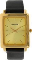 Sonata 7078YL02  Analog Watch For Men