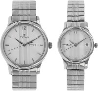 Titan 15802490SM03  Analog Watch For Couple