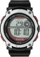 Sonata 77005PP03 Superfibre Digital Watch For Men