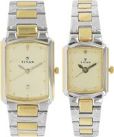 Titan NC19552955BM02 Karishma Analog Watch For Couple