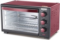 USHA 19-Litre OTGW 3619R Oven Toaster Grill (OTG)(Wine & Matte Black)