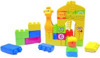 Miss & Chief Backpack blocks -35pcs(Multicolor)
