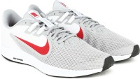 Nike DOWNSHIFTER 9 Running Shoes For Men(White, Grey)