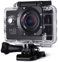 Odile Action Camera 1080p action camera Sports and Action Camera(Black, 12 MP)
