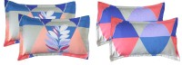 RRC Printed Pillows Cover(Pack of 4, 72 cm*45 cm, Multicolor)