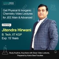 ETOOSINDIA JEE Video Lectures : Complete Physical and Inorganic Chemistry for Main and Advanced by JH Sir(USB)