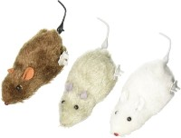 New Pinch Wind Up Cute Mouse Toy best return gift for kids (Pack of 3)(Multicolor)
