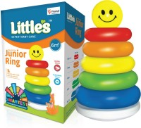 Little's Junior Stacking Ring Toys for Kids,(Multicolor)