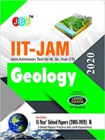 Iit-Jam Joint Admission Test for M.Sc. from Iits Geology 15 Year's Solved Papers (2005-2019) and 5 Model Papers/Practice Sets (with Explanation) 2020(English, Paperback, unknown)
