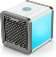NP NAVEEN PLASTIC 1 L Room/Personal Air Cooler(Blue, Arctic Cooler Portable Purifier Filter Humidifier 3 In 1)