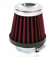 Kunjzone Red Filter Bike Air Filter Cover