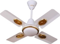 Sameer Ruby 24 inch High speed 4 mm 4 Blade Ceiling Fan(White, Pack of 1)