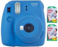 Fujifilm Instax Mini 9 Instant Camera Instant Camera(Blue)
