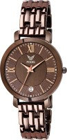 Fogg 4066-BR New Brown Watch Analog Watch  - For Women