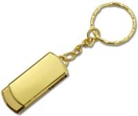 PANKREETI PKT899 Steel Key Chain 64 GB Pen Drive(Gold)