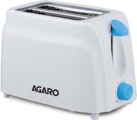 Agaro - 750 W Pop Up Toaster(White)