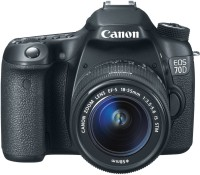 Canon EOS 70D Digital SLR 18-55 DSLR Camera(Black)