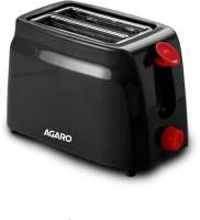 Agaro - 750 W Pop Up Toaster(Black)
