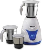 Agaro Blitz Mixer Grinder 750 Mixer Grinder(Blue & White, 3 Jars)