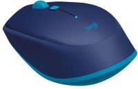 Logitech M337 Wireless Optical  Gaming Mouse(bluetooth, Blue)