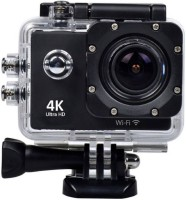 Maupin 4k Action camera 4k Sports and Action Camera(Black, 16 MP)