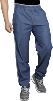 SAPPER Solid Men Blue Track Pants
