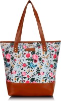 Lychee Bags Women White, Brown Tote