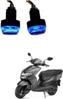 PRTEK Front LED Indicator Light for Honda Dio(White, Blue)