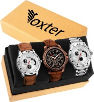 Foxter NEW STYLISH CASUAL COMBO FOR MAN Analog Watch  - For Men