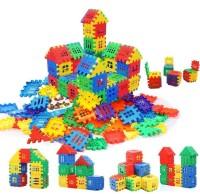 TEMSON Creative Multi Colored Jumbo Happy Home Building Blocks(Multicolor)
