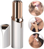 SKYCITY Lipstick shape painless Facial hair remover Cordless Epilator(White)