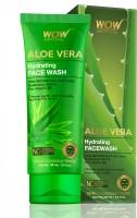 WOW Skin Science Aloe Vera Hydrating Face Wash - 100 mL- Tube Face Wash(100 ml)