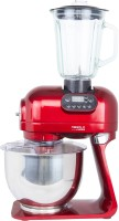 Hafele Klara - The Multifunctional Kitchen Machine 1000 Juicer Mixer Grinder (3 Jars, Red)
